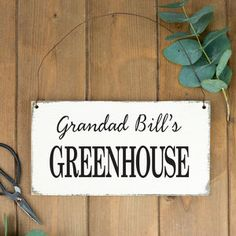 Personalised Wooden Garden Sign by Delightful Living, the perfect gift for Explore more unique gifts in our curated marketplace. Peg Hooks, Garden Wall Art, Garden Signs, Wire Hangers, Wooden Garden, Lettering, Words, Decorations, Calligraphy