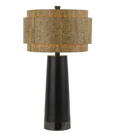 Look at this #zulilyfind! Black Aviva Lamp #zulilyfinds