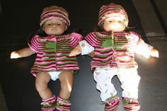 """Cardigan for dolls 12-12,5"""" and 16-16,5"""" tall"""