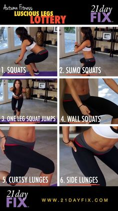 Looking to get better legs? Check out these workouts you can start doing at home! Start small today and then add more later. http://www.onesteptoweightloss.com/21-day-fix-workout-review #15LBWeightLoss