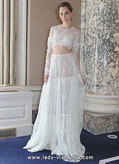 Transparente brautkleider 2016 Foto — Christos Costarellos  Alle Brautkleider http://de.lady-vishenka.com/transparent-wedding-dress-2016/