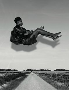 Kinée Diouf and shot by Viviane Sassen for AnOther Magazine