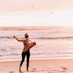 """""""She was Wild & Free, just like the Sea Saturday March come join the girls fitness day at Rainbow Bay Beach Head to for…"""" Lauren Bullen, March 12th, One Tree, Wild And Free, Trees To Plant, Roxy, Lust, Rainbow, Sea"""