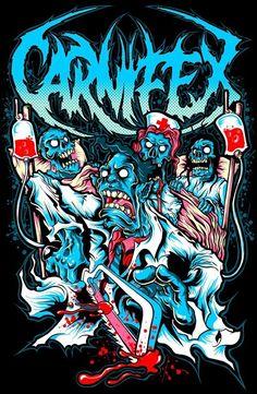 Carnifex! #deathcore #deathmetal