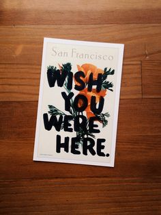 Hand Lettered postcards by Daniel Patrick Simmons
