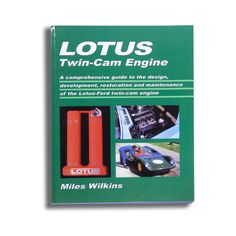 Comprehensive data and how-to guide to the Lotus – Ford twin-cam engine as used in the Elan, Europa, Lotus Cortina and Twin-cam Escorts.  Part 1: Concept, design and development including the Big Valve.  Part 2: Dismantling, reconditioning and assembly.  Includes information on fuel and exhaust systems and running-in procedure. Part 3: Specifications and data.