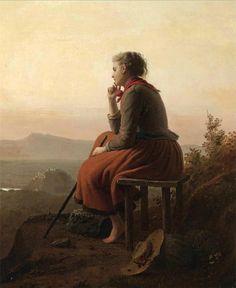 #57, Over The Hills And Far Away - Johann Georg Meyer von Bremen (1813–1886, German)