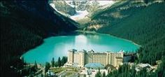Stunning view from Fairmont Chateau Lake Louise