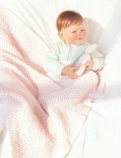 Strawberry Kisses Baby Blanket | AllFreeKnitting.com