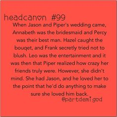 Jasper, Percabeth, Frazel.....and then theres Leo