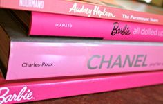 Pink Coffee Table Books