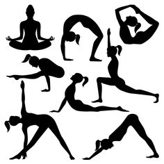 yoga poses power drawing udemy warm types