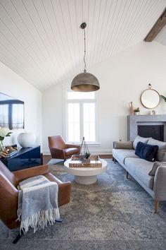 70 Elegant Modern Farmhouse Living Room Decor Ideas And Makeover 52 – Home Design