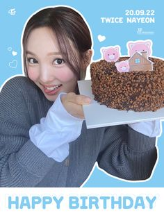 (20) Tweets con contenido multimedia de TWICE (@JYPETWICE) / Twitter Pig Family, Nayeon Twice, Im Nayeon, Dahyun, Happy B Day, Extended Play, Cheer Up, Happy Birthday Me, Virgo