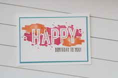 Stempelmessi: HAPPY BIRTHDAY, #GDP077, #GDPspecialmention, Stampin up: Happy Celebrations
