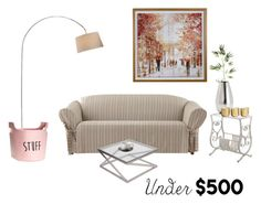 """""""Senza titolo #5564"""" by waikiki24 ❤ liked on Polyvore featuring interior, interiors, interior design, home, home decor, interior decorating, Sure Fit, Signature Design by Ashley, Pier 1 Imports and Price & Kensington"""