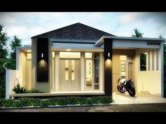 35 Latest Minimalist Home Design Looks 2020 Home Minimalist Design Looks … - Modern Modern Small House Design, Bungalow House Design, House Design Photos, Minimalis House Design, Model House Plan, Classic House, Architect Design, Minimalist Home, Home Interior