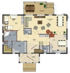 Your Vision of Home - House collections Modern Townhouse, Traditional House, Cosy, My House, Floor Plans, Layout, Flooring, How To Plan, Houses