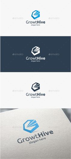 Growth Hive - Logo Template #design #logotype Download: http://graphicriver.net/item/growth-hive-logo-template/11356401?ref=ksioks