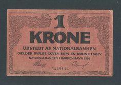 Denmark 1 Krone 1914 VF | eBay http://www.ebay.com/itm/DENMARK-1-Krone-1914-VF-/161081823783?pt=Paper_Money=item2581399227