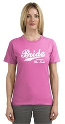 $22.99  Bride to be...The future Mrs. personalized t-shirt