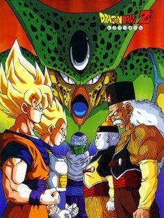Saga de Cell - Saiyajin - Androides - DRAGÓN BALL Z