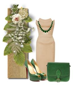"""Untitled #10082"" by nanette-253 ❤ liked on Polyvore featuring Zac Posen, Louis Vuitton and Bling Jewelry"