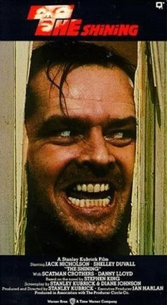 A work that has made me rethink the Art is a film, 'The Shining The director of the movie is Stanley Kubrick, and an actor is Jack Nicholson. Jack Nicholson, Stanley Kubrick, Scary Movies, Great Movies, Awesome Movies, Danny Lloyd, Scatman Crothers, Roman, Stephen King