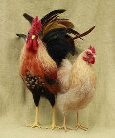 Items similar to Needle felted chicken, Made to order, Buff Orpington hen or custom breed, month turnaround time on Etsy Buff Orpington, Needle Felted Animals, Felt Animals, Needle Felting Tutorials, Felt Birds, Felt Diy, Felt Hearts, Wet Felting, Soft Sculpture
