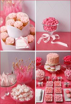 Debut party cake macaroons and candies ideas