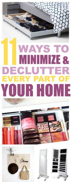 This is a collection of all of the tips that I've found along the way that make it so much easier to minimize clutter a little each day.Don't miss #7!