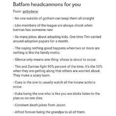 "24 Likes, 1 Comments - #whosaysquelavienoebelle? (@crowbarparty) on Instagram: ""Okay, but Bruce saying Ohana in stitchs tone -- #batfamily #batwing #batman #batfam #batboys…"""