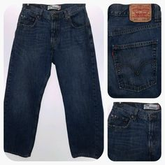 LEVIS 569 Loose Straight Men's 30x30 Jeans 30 x 30 FREE US SHIPPING EUC #Levis #BaggyLoose