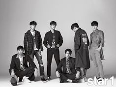 Shinhwa - @ Star1 Magazine February Issue '15