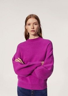 Puffed sleeves sweater | under $50