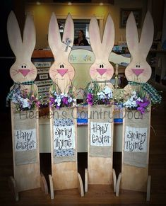 40 DIY Easter Wood Crafts which are a result of Labour Love And Patience Hike n Dip Wood Crafts crafts Dip DIY Easter hike Labour Love Patience result Wood Spring Projects, Easter Projects, Spring Crafts, Holiday Crafts, Rabbit Crafts, Bunny Crafts, Easter Crafts, Crafts For Teens To Make, Crafts To Sell