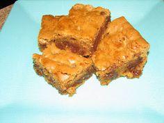 Gluten Free Desserts made Delicious: Gluten Free Blond Brownies