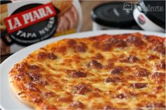 Pizza de La Piara Tapa Negra