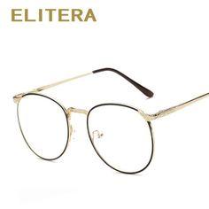 f42103a0c38b8 Elitera 2017 novos óculos da moda óculos de miopia quadro das mulheres dos  homens do vintage