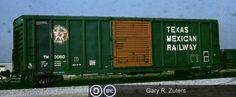 TM, Texas Mexican Railway 50' Single Door Boxcar, 3060 November, 1983, Toronto, Ontario