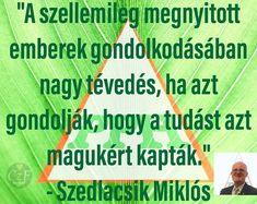 Szedlacsik Miklós Idézet