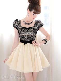 Lace and Bow knot De