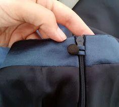 nifty zipper finish