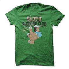 Sloth Running Club T Shirt, Hoodie, Sweatshirts - silk screen #teeshirt #fashion