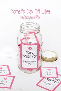 Mom's Helper Jar - a