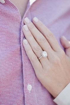 My sister reminded me about oval engagement rings as a compromise ( I like cushion, my boyfriend likes round), and it's just really growing on me. =) My sister reminded… Halo Engagement Rings, Engagement Pictures, Wedding Engagement, Wedding Bands, Wedding Ring, Perfect Wedding, Dream Wedding, Wedding Day, Wedding Photos