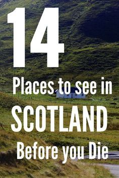 (Cycling holiday, anyone?) So you've decided you want to go to Scotland? Here are 14 places in Scotland you have to visit before you die, and yes the Loch Ness is definitely one of them. Find out the other 13 places.