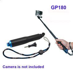 Free Shipping!!POV Pole 19 inch Handheld Monopod 19-49cm For Gopro Hero 4 3 /3/2 SJ4000 SJ5000 XiMiYi Sport Camera