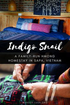 Looking to experience an authentic Hmong homestay in Sapa, Vietnam? Indigo Snail Boutique Hmong Homestay in Ta Van village is a wonderful getaway from Sapa town. Featuring boutique accommodation, trekking, textiles, and home-cooked meals. China Travel, Bali Travel, Travel Alone, Japan Travel, Visit Vietnam, Vietnam Travel, Travel Advice, Travel Tips, Travel Articles