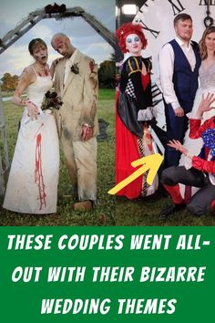 #Couples #Went #All #Out #Bizarre #Wedding #Themes Outdoor Wedding Decorations, Wedding Themes, Lemon Skin Lightener, Edgy Short Haircuts, Evening Gowns With Sleeves, Braided Pony, Silver Christmas Decorations, Turkish Women Beautiful, Sketch Tattoo Design